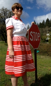 1940's Stop! Dress