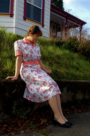 "1940's Movie ""Marty"" Dress"