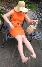 Tangerine Tango Dress