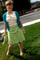 March Madness Blouse/Skirt