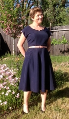 1940's Upcycle Dress