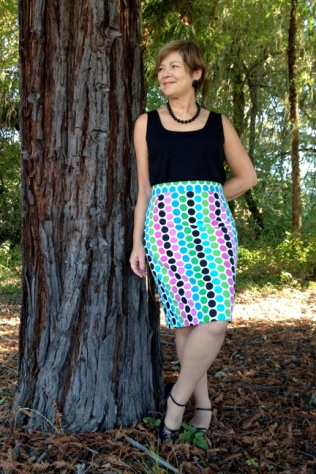 Mod Dots Skirt