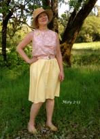 Top and skirt combo dress