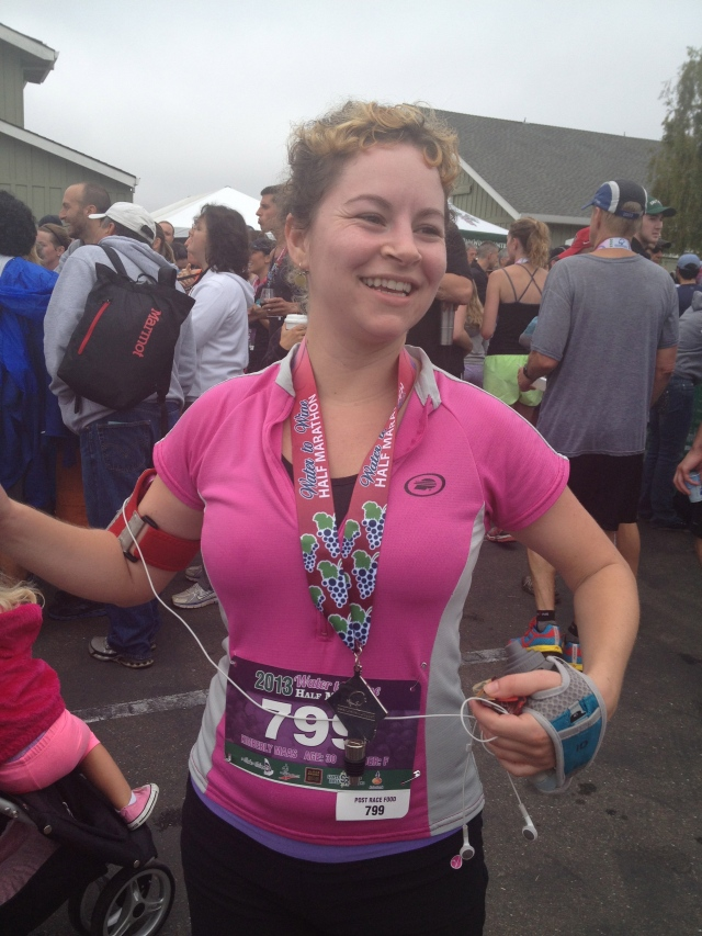 Kimberly Runs a Half Marathon on her 30th!