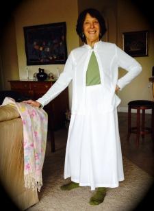 Lekala Skirt and Tunic Top